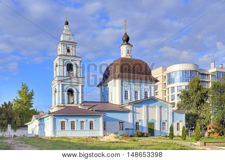 The territory of the Marfo-Mariinsky Convent. Pokrovsky Church