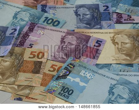 Brazilian money currency notes finance economy business