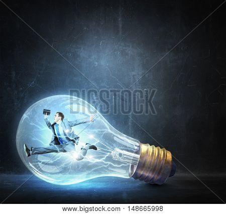 He is ideas generator . Mixed media