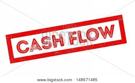 Cash Flow Rubber Stamp