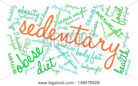 Sedentary Word Cloud