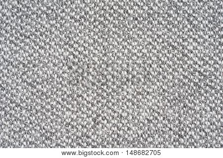 White and black knitting as a seamless background