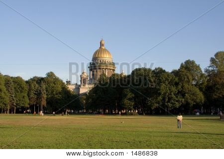 Isaac Cathedral Saint Petersburg Russia