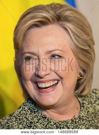 Hillary Clinton At Un General Assembly In New York