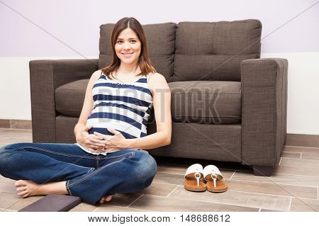 Relaxing At Home During Pregnancy