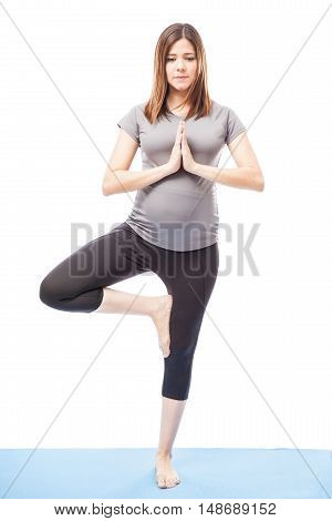 Doing Some Yoga During Pregnancy