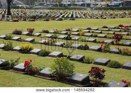 Thailand War Cemetery