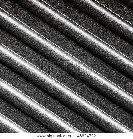 Metal background and texture with diagonal line
