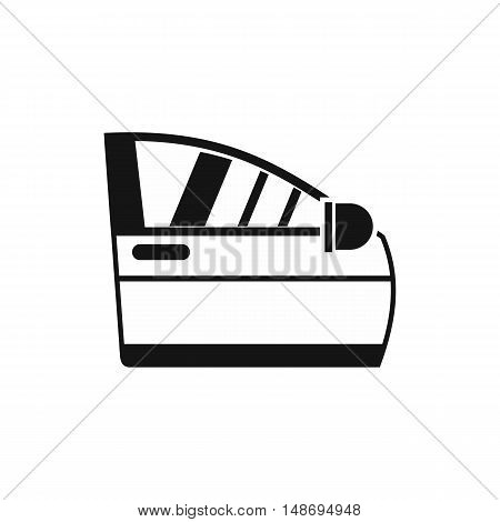 Car door icon in simple style on a white background vector illustration