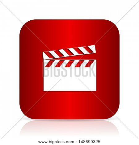 video red square modern design icon