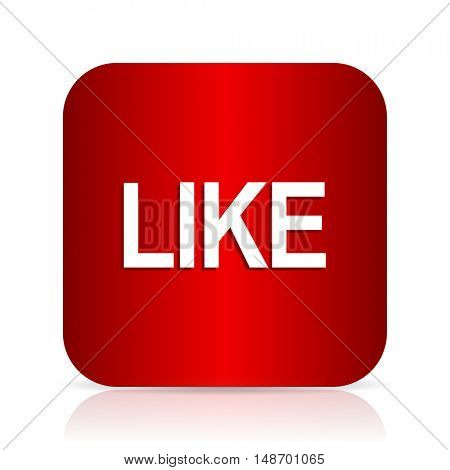 like red square modern design icon