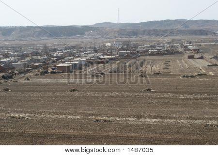 Rural House Landscape