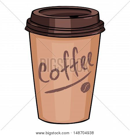 Plastic Cup With Lid For Coffee