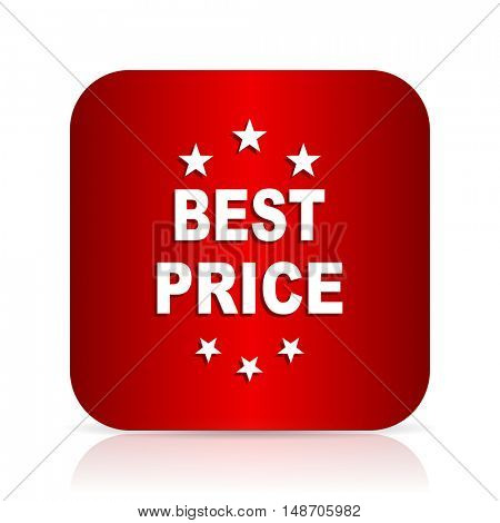best price red square modern design icon