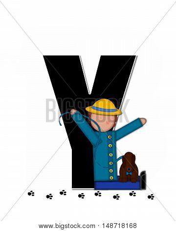 Alphabet Children My Pets Y