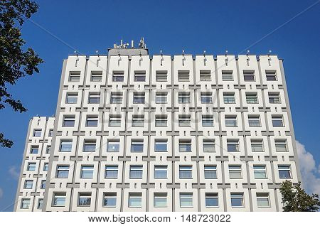 Building of the Ministry of antitrust and trade of the Republic of Belarus in Minsk