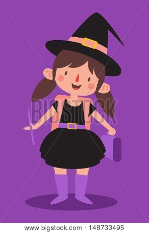 Cute Student Witch