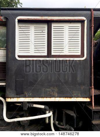 Detail Vintage Train Railway