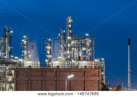 Oil Refinery Factory, Petrochemical Plant