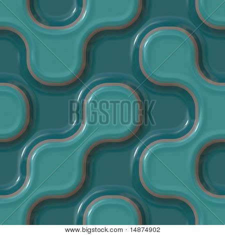 Colorful abstract patterns glossy ceramic plastic surface look