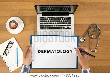 Doctor Writing Medical