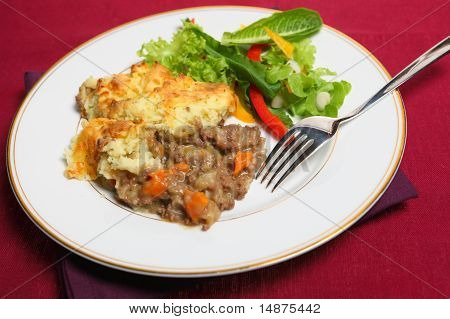 Shepherd's Pie Meal On Cloth