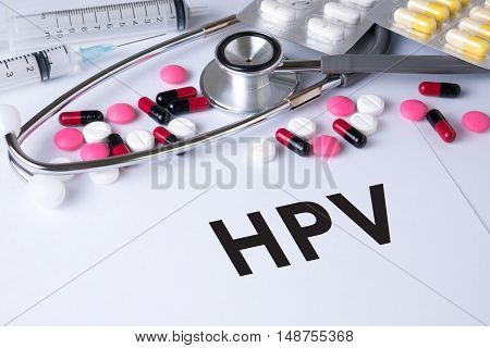 Hpv Concept