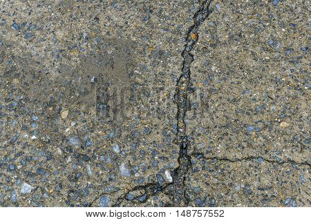The Broken cement background. Abstract broken congrats.