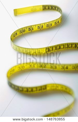 Winding Strip of Measuring Tape