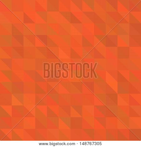 orange/red polygonal illustration, which consist of triangles. Geometric background in Origami style with gradient. Triangular design for your business.