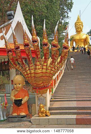 Staircase To The Big Buddha