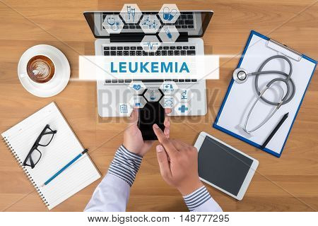 Leukemia Concept