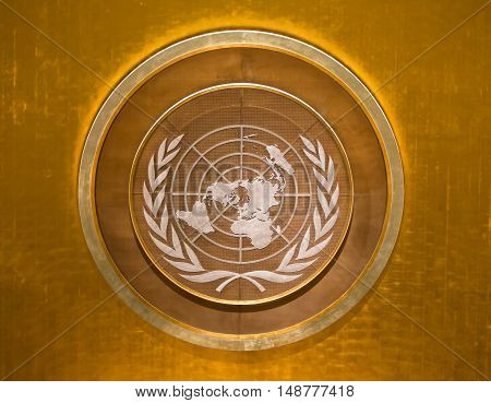 Emblem Of The United Nations