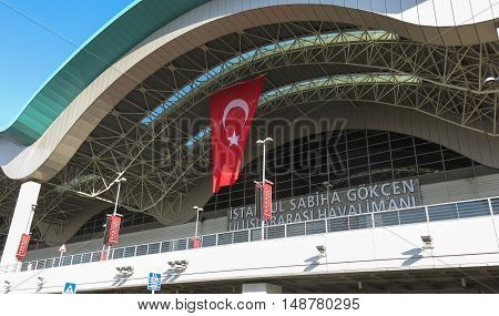 Sabiha Gokcen International Airport (saw) In Istanbul, Turkey