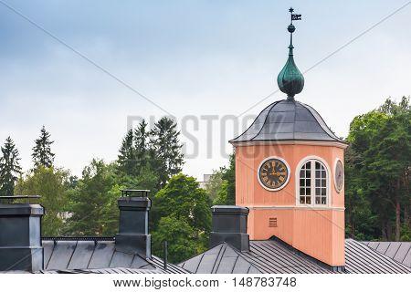 Porvoo, Finland. Town Hall Facade Fragment