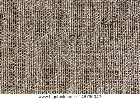 the burlap or hemp sack texture for background