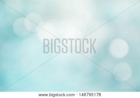 Texture bokeh style summer bokeh blue wave blur style background