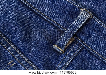 Jeans. The fabric is popular. Made trousers shirts bags and colored with several colors.