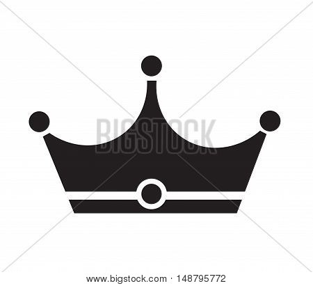 crown icon crown icon on white background