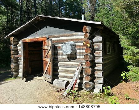 Shack In The Woods - Algonquin Park 2016
