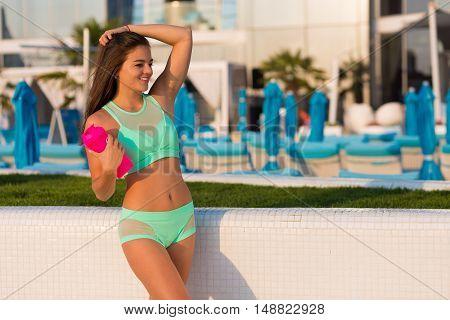 Pretty Sporty Woman