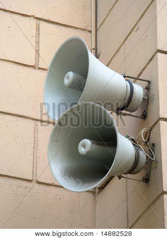 Two Loudspeakers