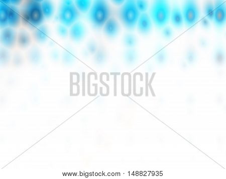 Blue and white abstract background for ppt template.
