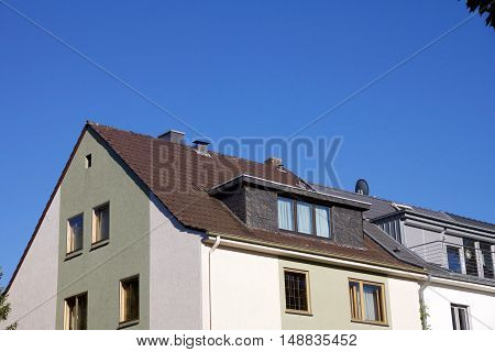 House With Dormer Windows