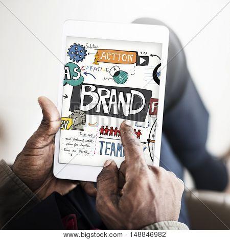 Brand Creative Advertising Trademark Concept