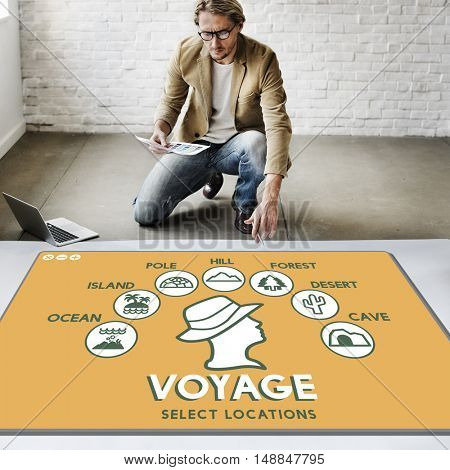 Voyage Adventure Travel Journey Experience Concept