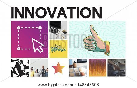 Design Creation Graphic Innovation Concept