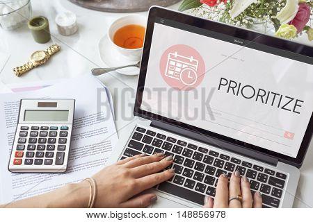 Agenda Calendar Appointment Graphic Concept
