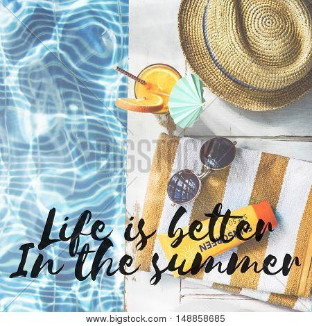 Summer Break Holiday Rest Vacation Concept