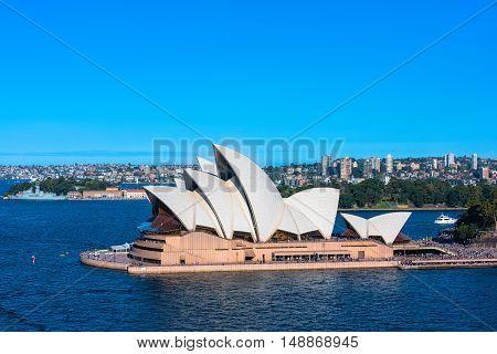 Sydney Opera House NSW Australia. Sep 26,2016 Sydney Opera House Sydney,Australia is famous art center.Over 10 millions tourists visit Sydney a year.